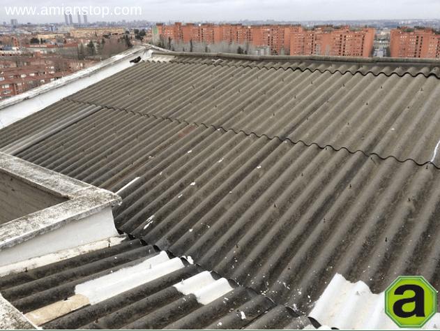 tejados fibrocemento retirada de fibrocemento con amianto