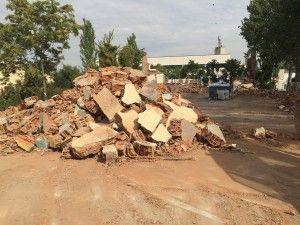 escombros contaminados uralita amianto
