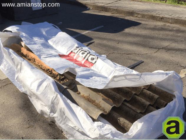 Amianstop sustituir la cubierta de fibrocemento con for Fibrocemento sin amianto