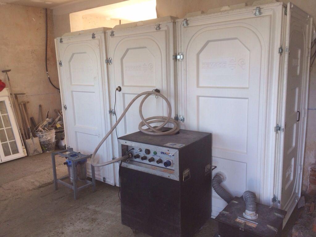 Cabina de descontaminaci n amianto caracter sticas for Fibrocemento sin amianto
