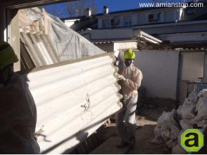 retirada de amianto